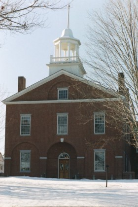 Lincoln County Courthouse, Wiscassett (2001)