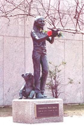 Sculpture of Samantha Smith (2001)