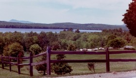 North Pond from Route 8 in Smithfield (2001)