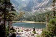 Chimney Pond in Baxter State Park (August 2001)