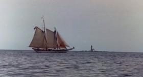 Schooner Near Halfway Rock (2001)