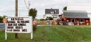 Farm Stand in Westfield on U.S. Route 1 (September 2001)