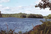 Islands in the Penobscot River at Greenbush