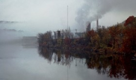 Otis Paper Mill on the Androscoggin (2001)