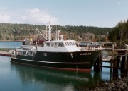 Missionary Boat Sunbeam in Northeast Harbor (2001)