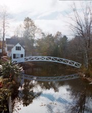 The Selectmen's Building, c. 1780, in Somesville, Mount Desert Island (November, 2001)