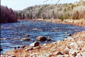 Dead River Rapids near Route 201 (2002)
