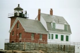 Rockland Breakwater Lighthouse, Rockland Harbor (2002)