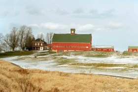 Brick House with Classic Barn (2002)