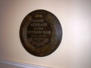 Plaque Honoring Vietnam Veterans in the State House (2003)