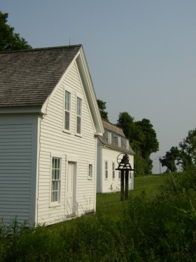 Shaker Buildings in New Gloucester (2003)