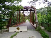 1916 Bridge over the Sandy River in New Sharon (2003)