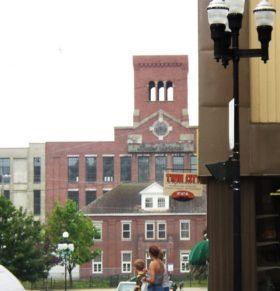 Bates Mill from Downtown Lewiston (2003)