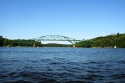 The Arrowsic Bridge from the Kennebec River (2003)