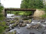 Over Wesserunsett Stream, Skowhegan (2003)