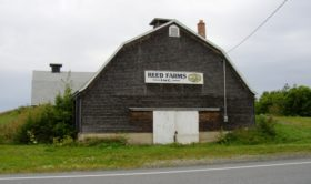 Reed Farms Potato House on U.S. Route 1A (2003)