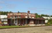 Old Caribou Railroad Station on Route 89 (2003)