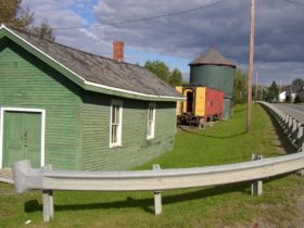 Railroad Museum in Frenchville (2003)