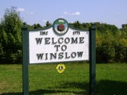 "sign: ""Welcome to Winslow"""