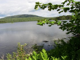 Parlin Pond and Parlin Mountain (2004)