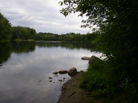 Androscoggin River at Durham River Park in Durham (2004)