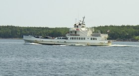 Maine State Ferry in Penobscot Bay (2004)