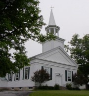North Livermore Baptist Church on Route 4 (2004)