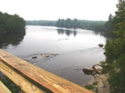 West Branch at Abol Bridge near Baxter State Park
