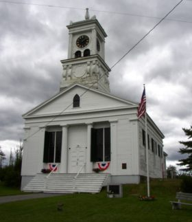 Columbia Falls Town Hall, once the Union Church (2004)