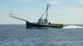 Fishing Boat on Casco Bay (2004)