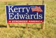 Sign: Kerry Edwards 2004
