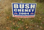 Sign: Bush Cheney 2004