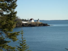 Curtis Island and Curtis Island Light (2005)
