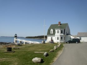 Marshall Point Lighthouse at Port Clyde in St. George (2005)