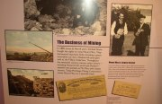 """Mount Mica"" exhibit at Harvard's Peabody Museum (2005)"