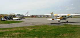 Aircraft at Dewitt Field (2005)