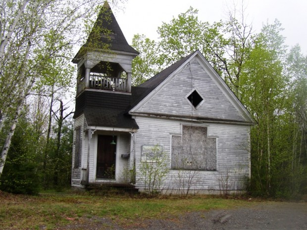 Church on the outskirts of Lagrange Village (2005)
