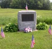 Civil War Veterans Memorial in South Somerville (2005)