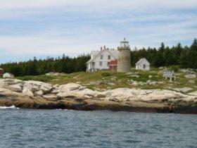 Whitehead Island Light on Whitehead Island in St. George (2005)
