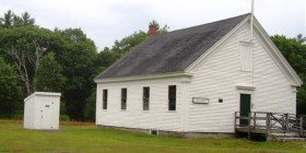 Dry Mills School House in Gray (2005)
