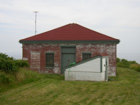 Pump House Foreground) and Fog Horn House (2006)