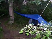Tent at Attean Falls Campsite (2013)