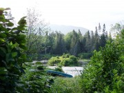 The Moose River at Attean Falls Campsite (2013)