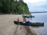 Canoers on the Beach (2006)