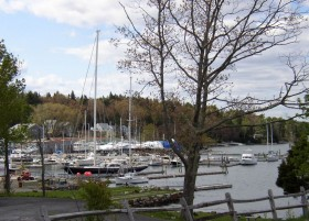 Harbor in East Boothbay (2007)