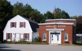 Scarborough Historical Museum/Portland Railroad Company Substation (2007)