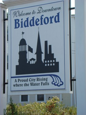 sign: Welcome to Downtown Biddeford (2007)