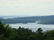 Castine Across the Bagaduce River from Brooksville (2008)