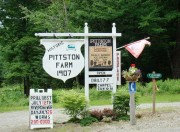Pittston Farm Sign on the Northern Road (2008)