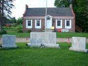 Veterans Memorials near Weld Library (2008)